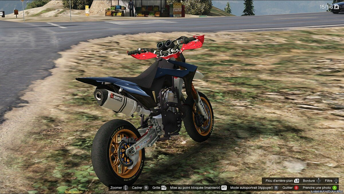 ��отоцикл Supermota v3 (add-on) v1.0 для GTA 5