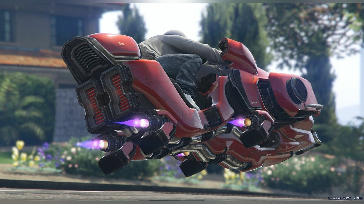 Sci-Fi Hover Bike [Add-On / Replace Test | Livery] 1.0.1 для GTA 5 - скриншот #9