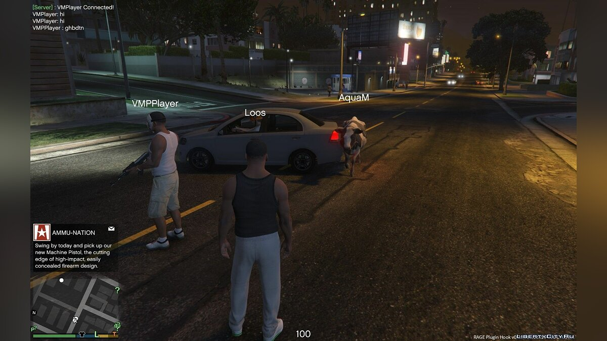 ��лиент V-Multiplayer 1.0.4 для GTA 5