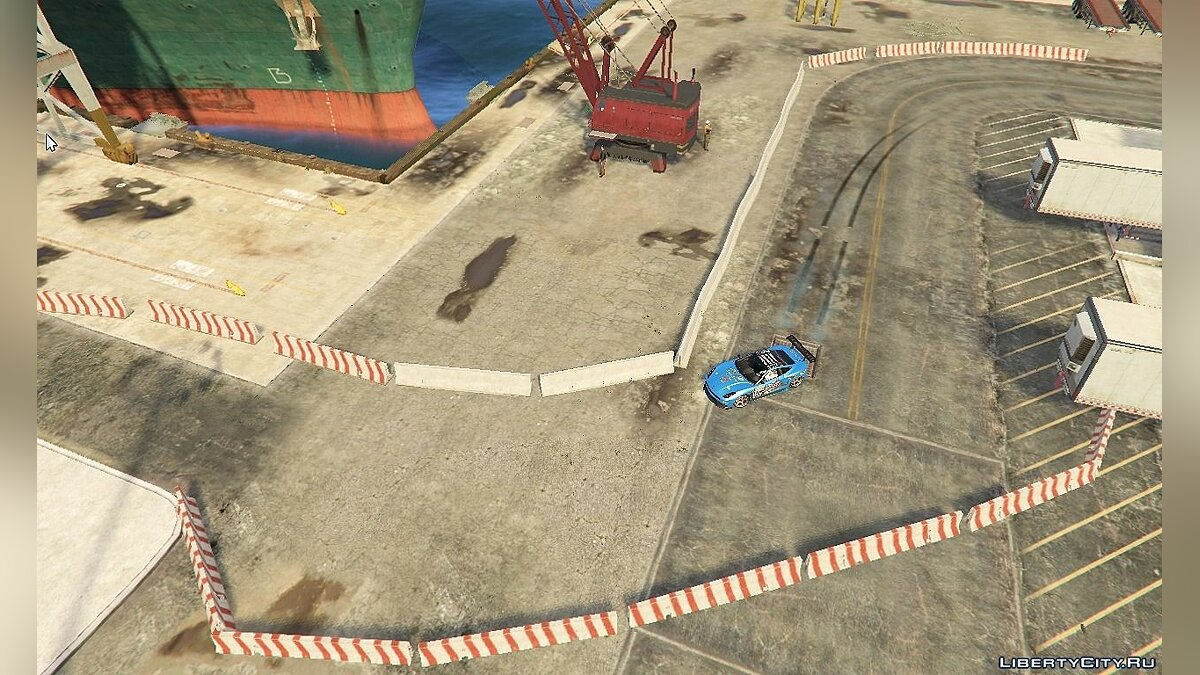Docks Drift Layout 1.0 для GTA 5 - скриншот #4