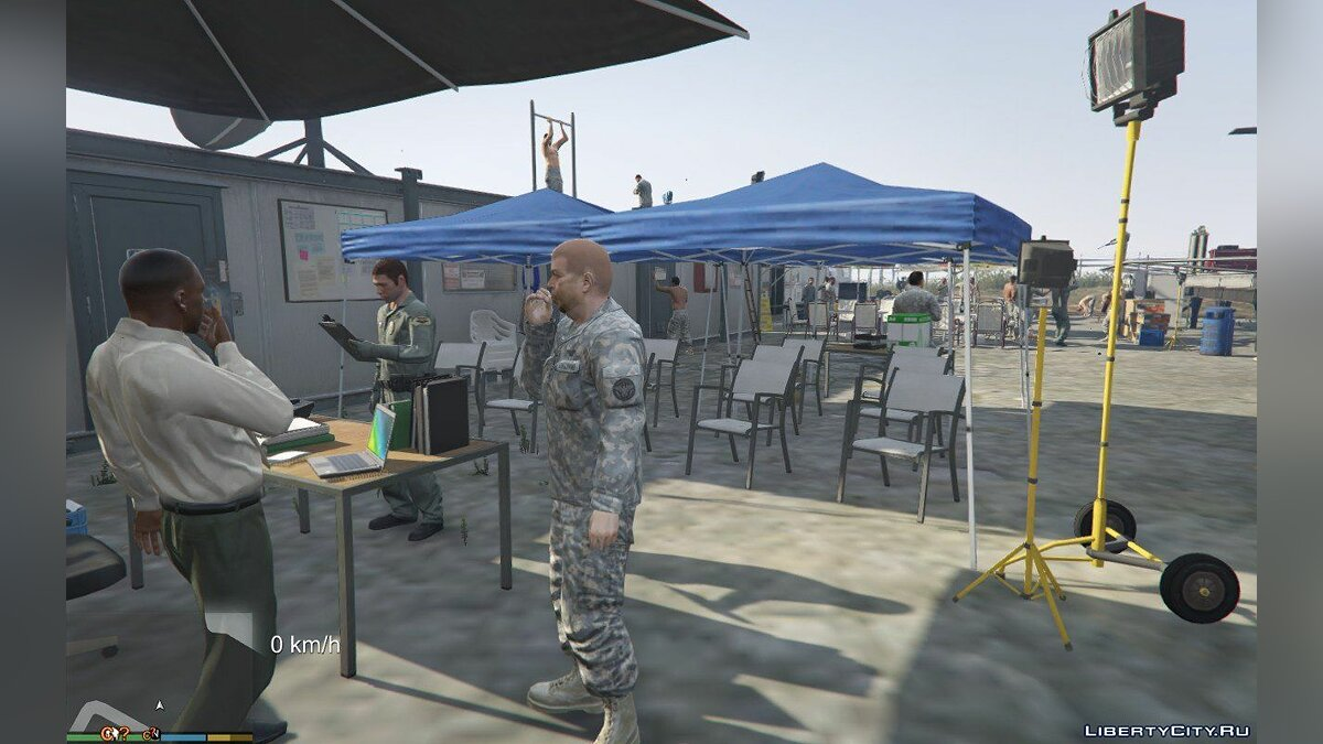 Новый объект Rapid Deployment Joint Task Force [Add-On | YMAP] 1.0 для GTA 5