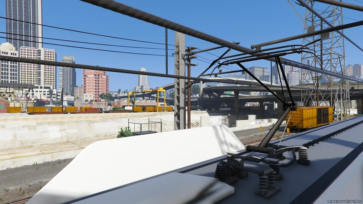 Новый объект Los Santos Electric Railway [Replace] 1.0 для GTA 5