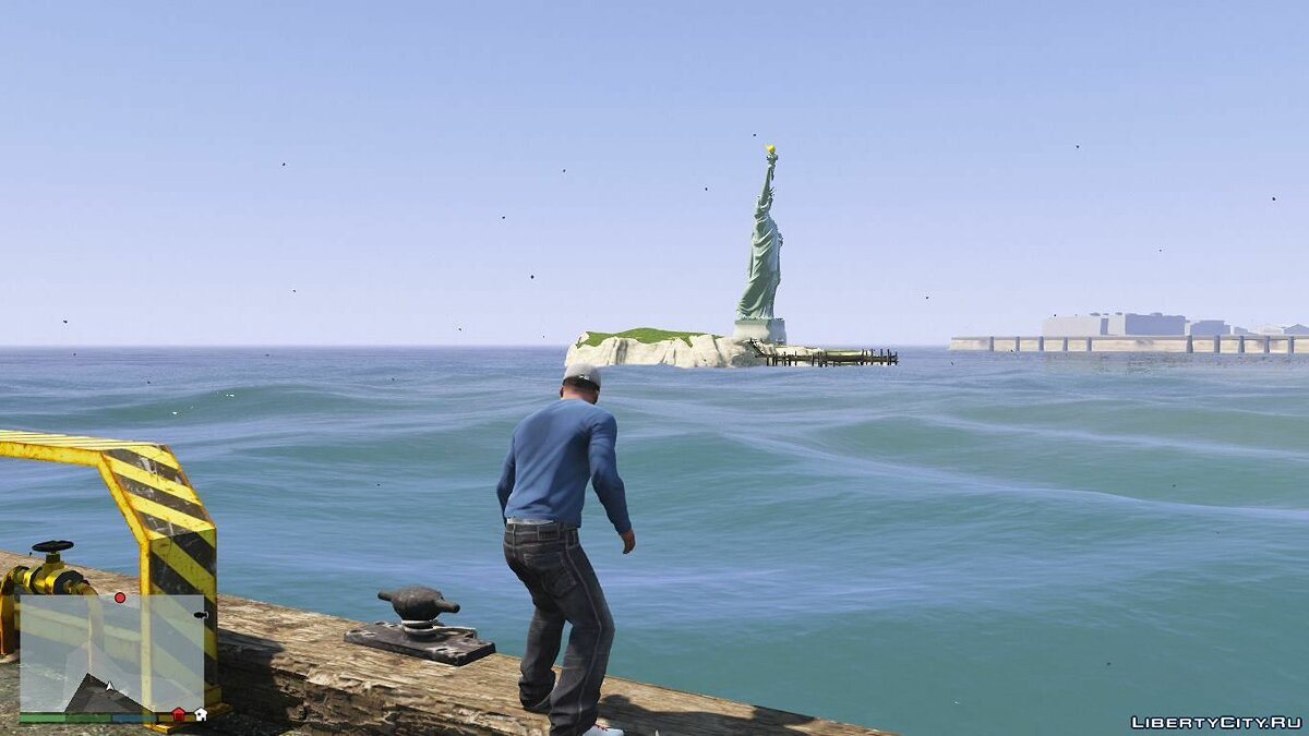 Statue of Liberty [Add-On] 1.0 для GTA 5 - скриншот #3