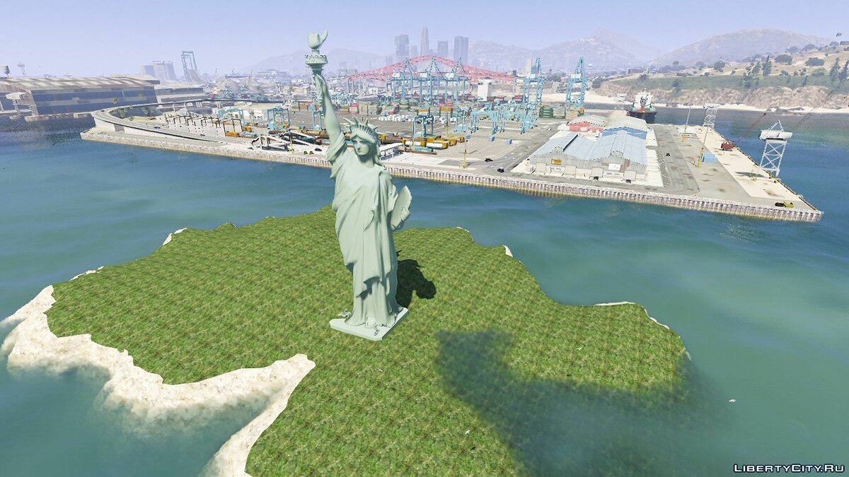 Statue of Liberty [Add-On] 1.0 для GTA 5