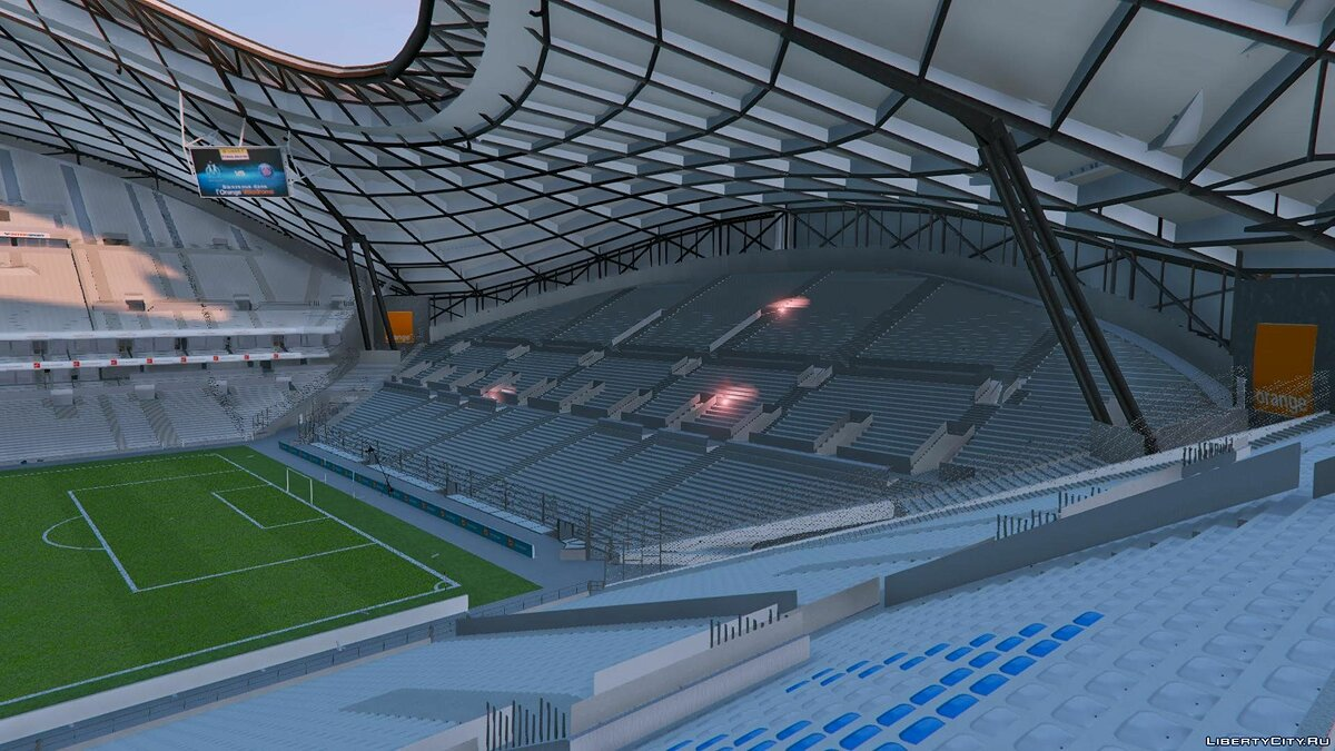 Stade Orange Vélodrome Marseille (Soccer Stadium) 1.0 для GTA 5 - скриншот #7