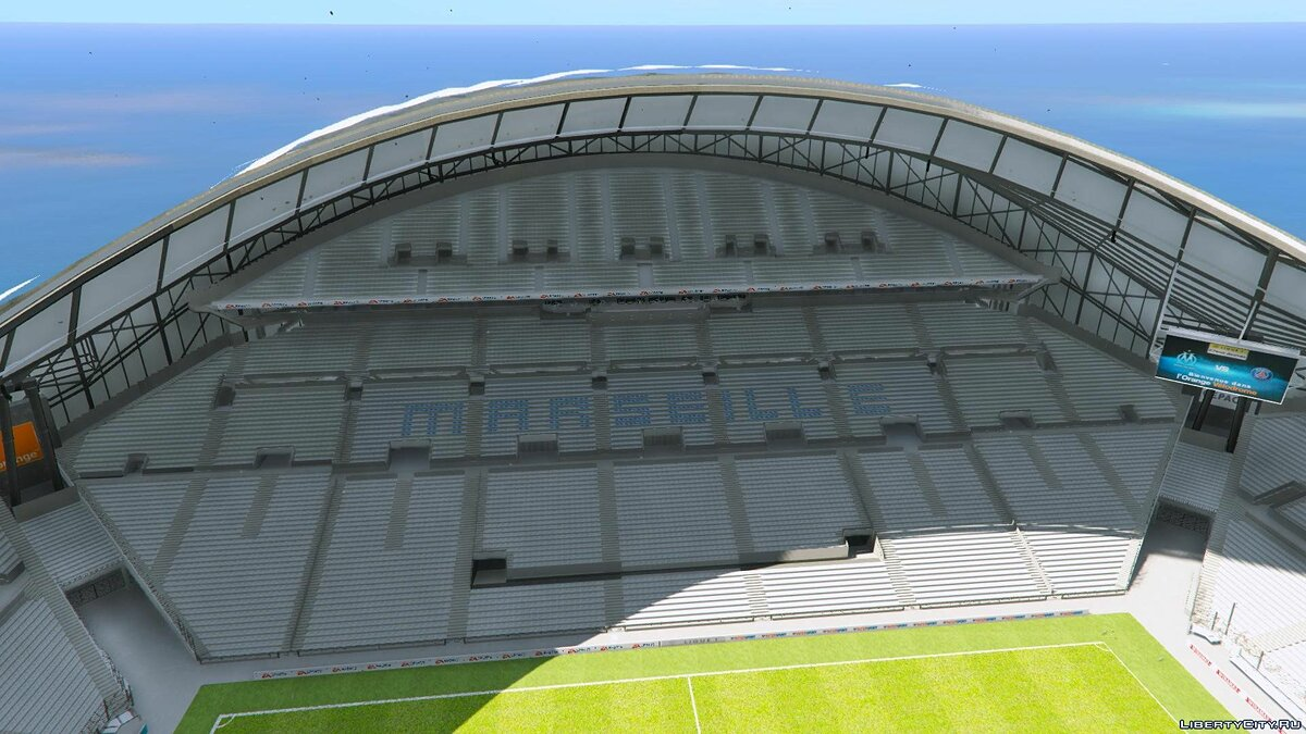 ��овый объект Stade Orange Vélodrome Marseille (Soccer Stadium) 1.0 для GTA 5