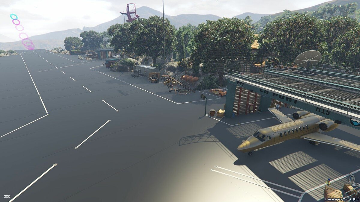 ��овый объект Marlowe Valley v4.0 для GTA 5