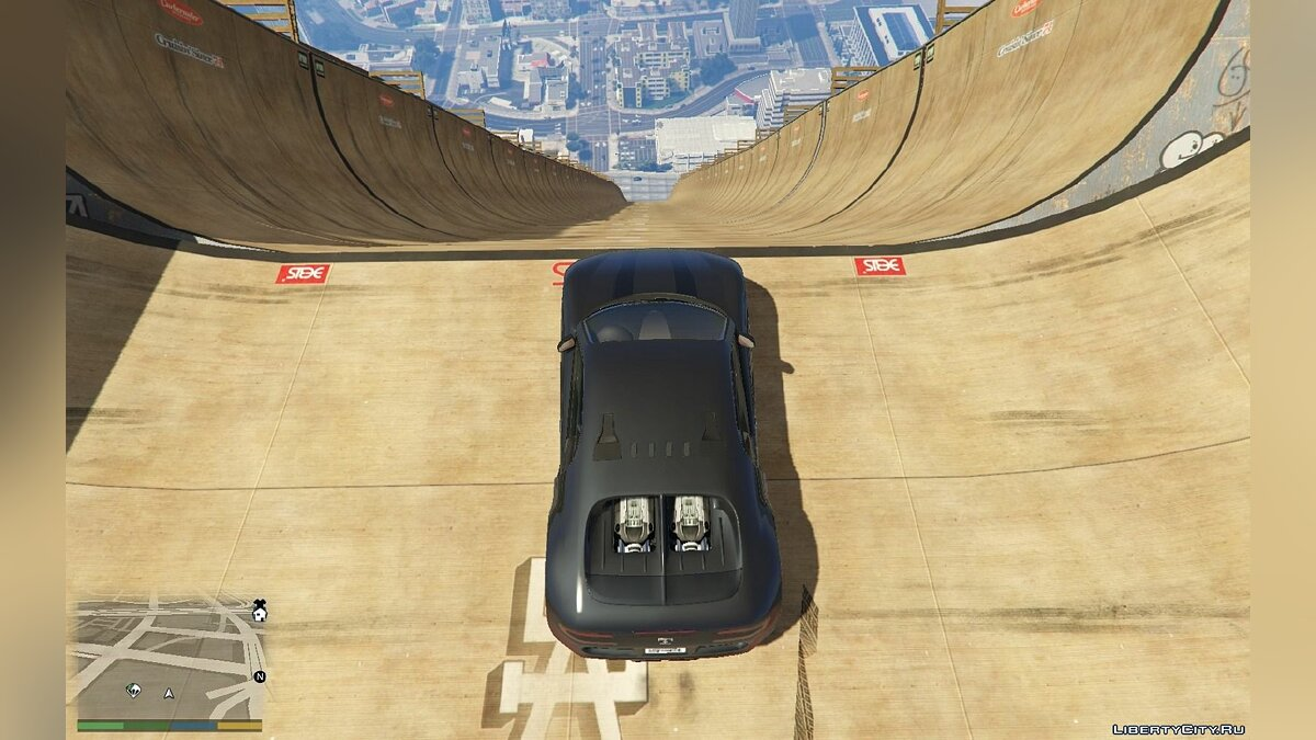 Новый объект Mega Ramp alpha для GTA 5