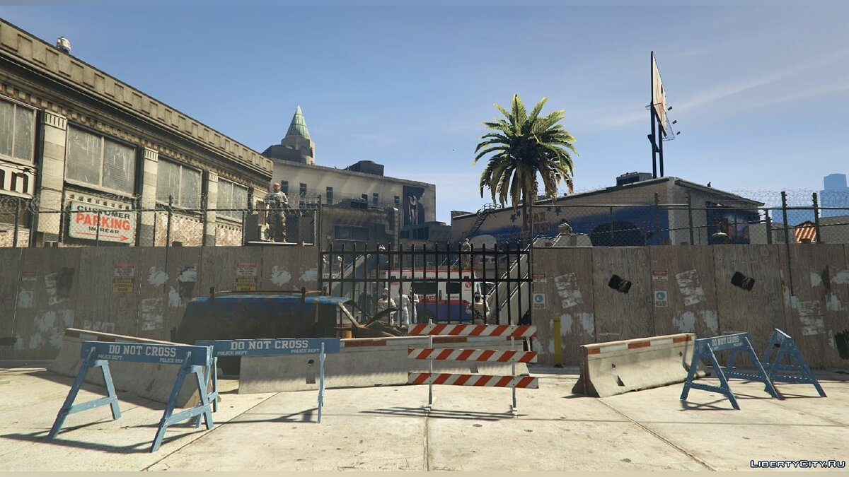 Vinewood Survival Base [Final Resistance Base] 0.1 для GTA 5
