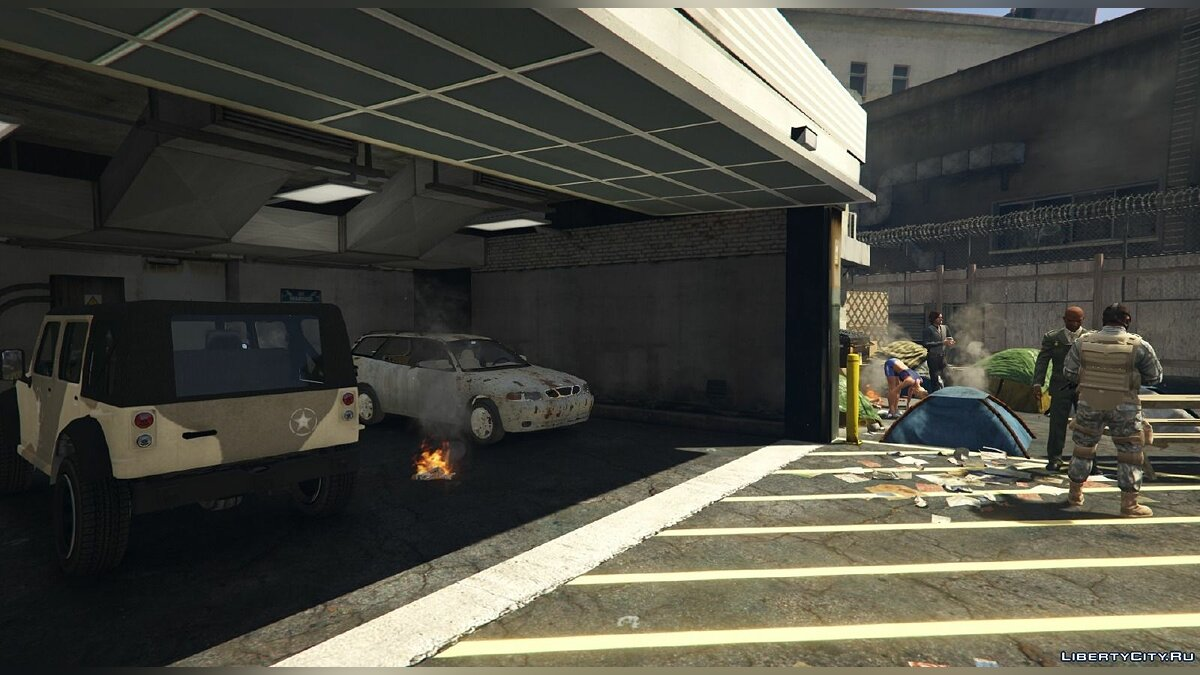Vinewood Survival Base [Final Resistance Base] 0.1 для GTA 5 - скриншот #4