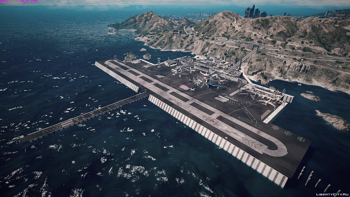 Tataviam International Airport [Menyoo / Map Editor] 1.0 для GTA 5