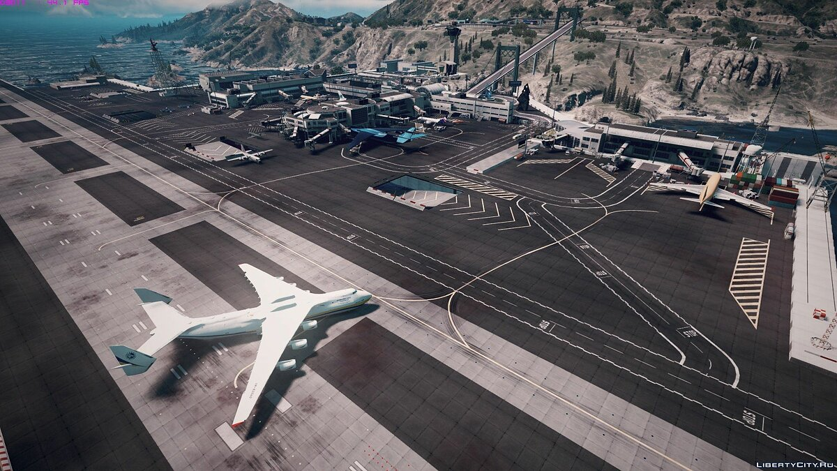 Tataviam International Airport [Menyoo / Map Editor] 1.0 для GTA 5 - скриншот #12