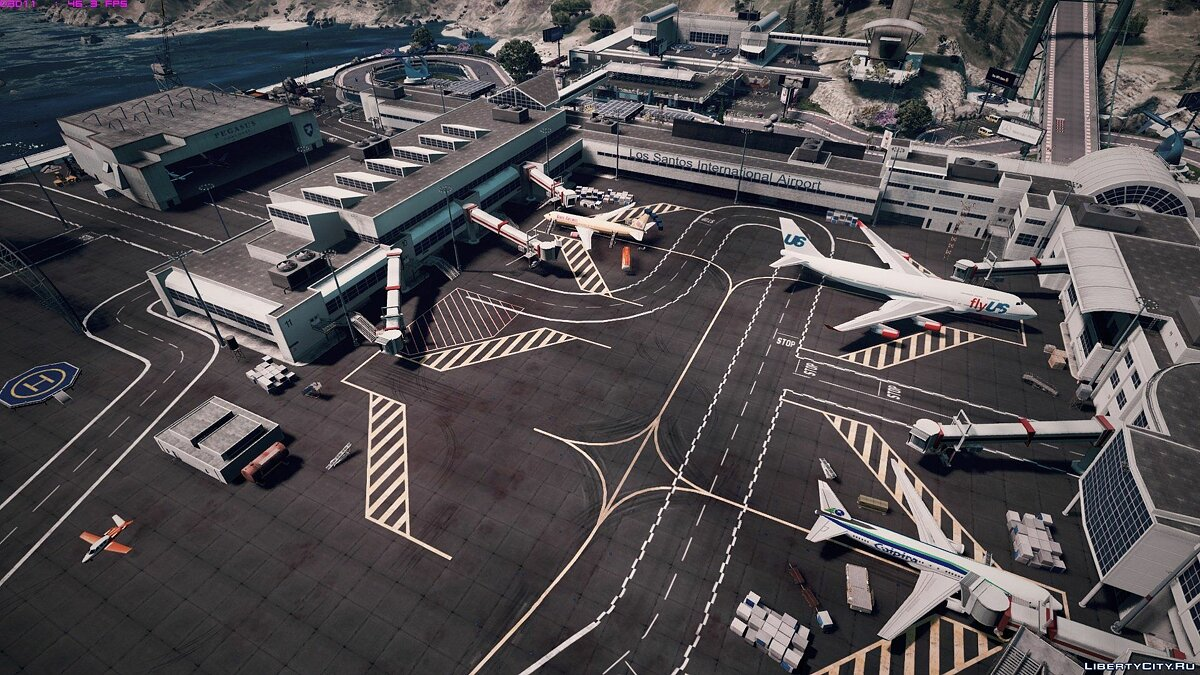 Tataviam International Airport [Menyoo / Map Editor] 1.0 для GTA 5 - скриншот #18