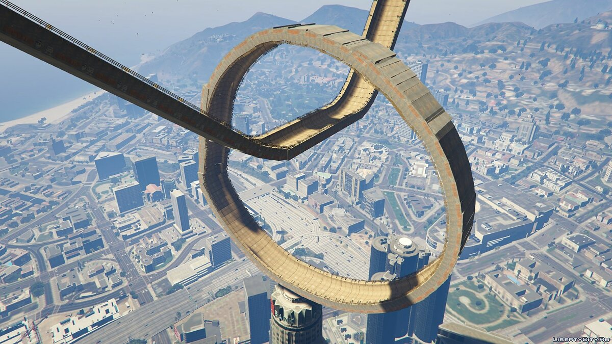 Maze Bank Loop The Loop для GTA 5