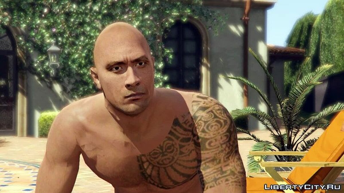 Dwayne Johnson and Michael Madsen [Player Mod] для GTA 5 - скриншот #5