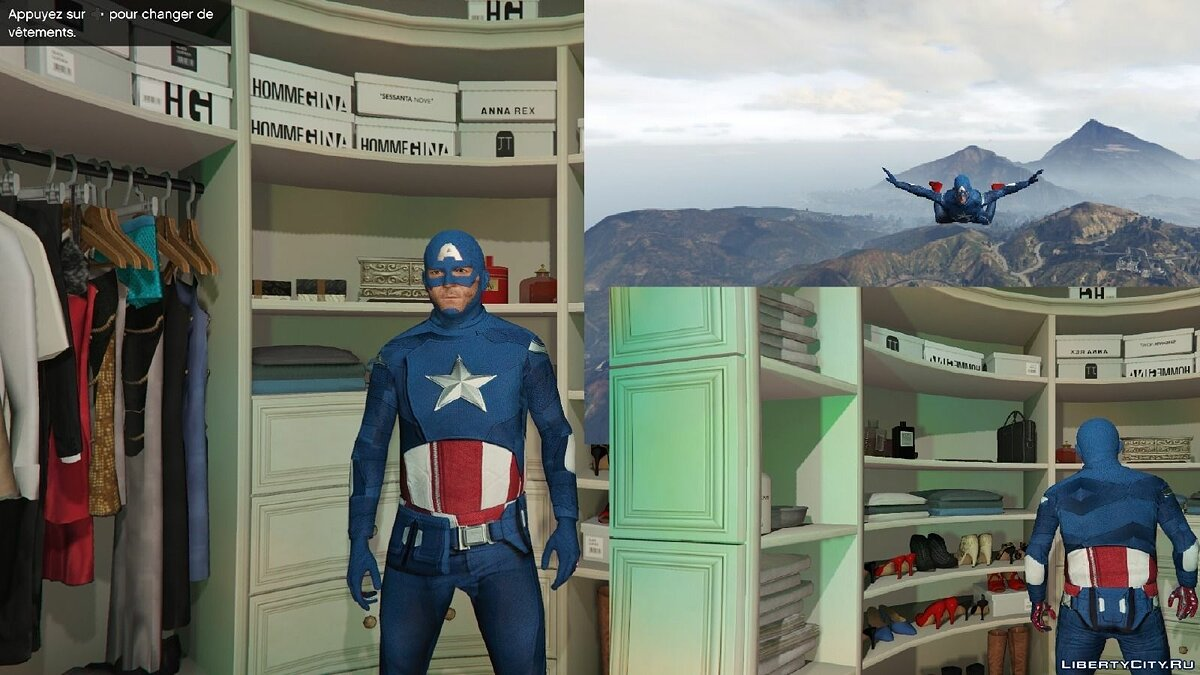 Captain America: First Avenger для GTA 5