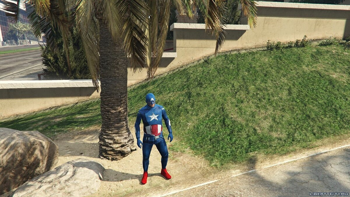 Captain America: First Avenger для GTA 5 - скриншот #3