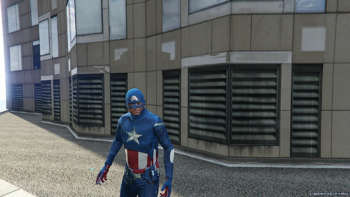 Captain America: First Avenger для GTA 5 - скриншот #4