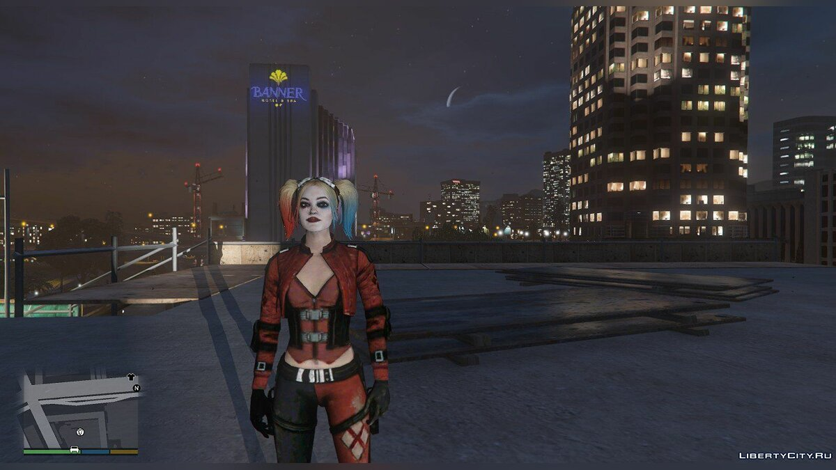 ��овый персонаж Harley Quinn from Injustice 2 1.0 для GTA 5