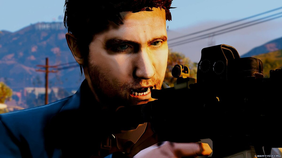 Новый персонаж Jake Gyllenhaal [Add-On / Replace] для GTA 5