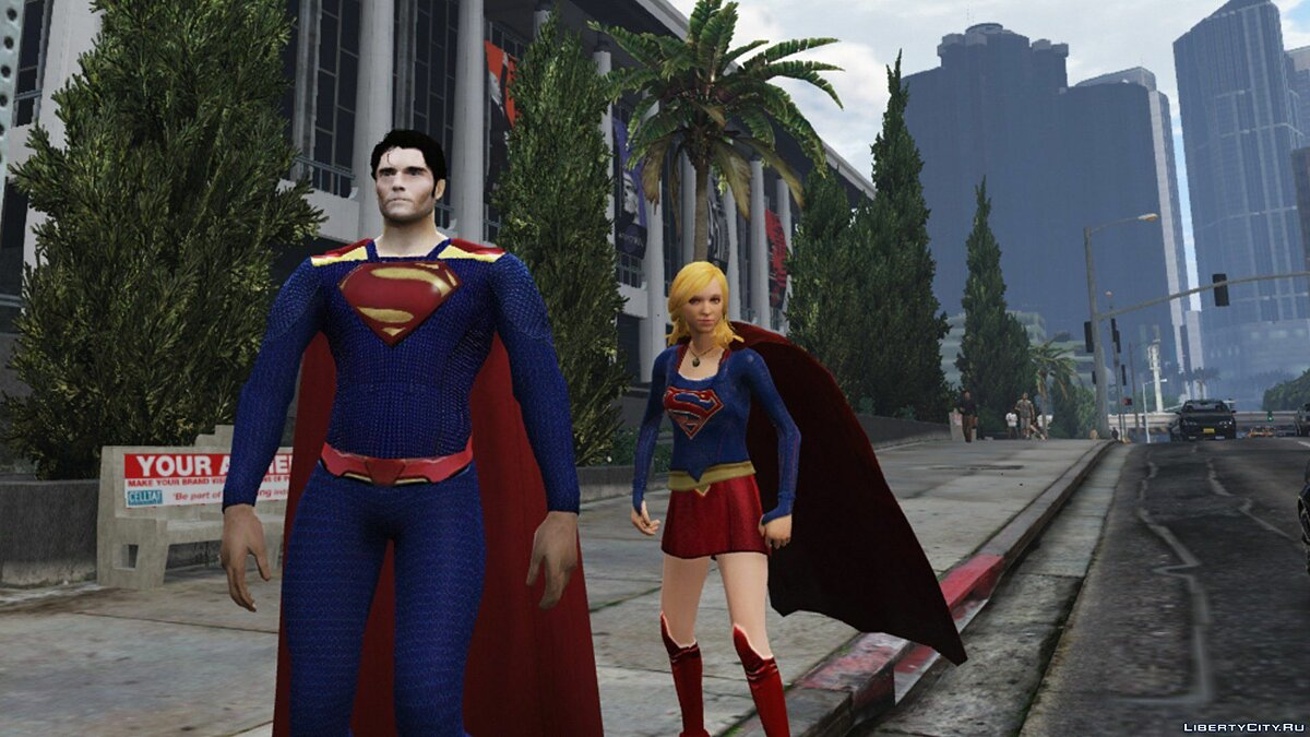 Superman CW 1.0 для GTA 5