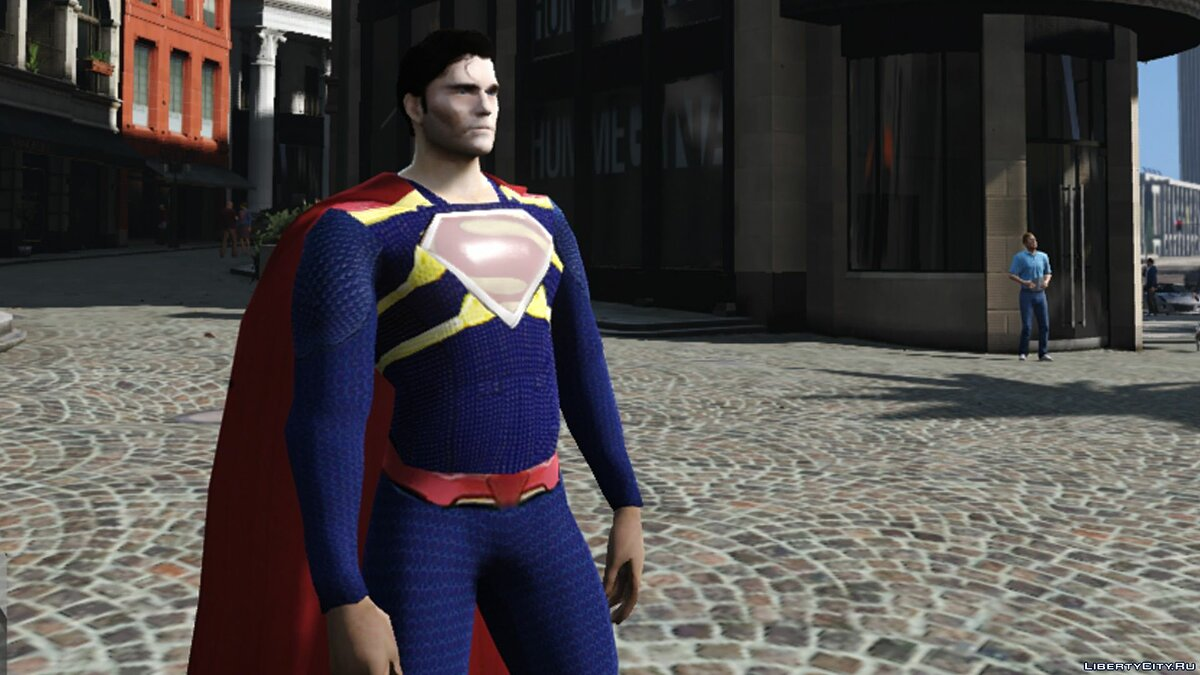 Superman CW 1.0 для GTA 5 - скриншот #4