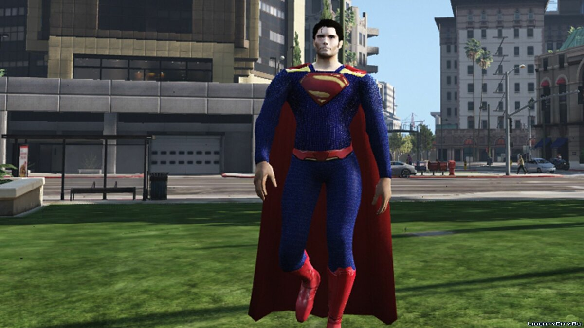 Superman CW 1.0 для GTA 5 - скриншот #5