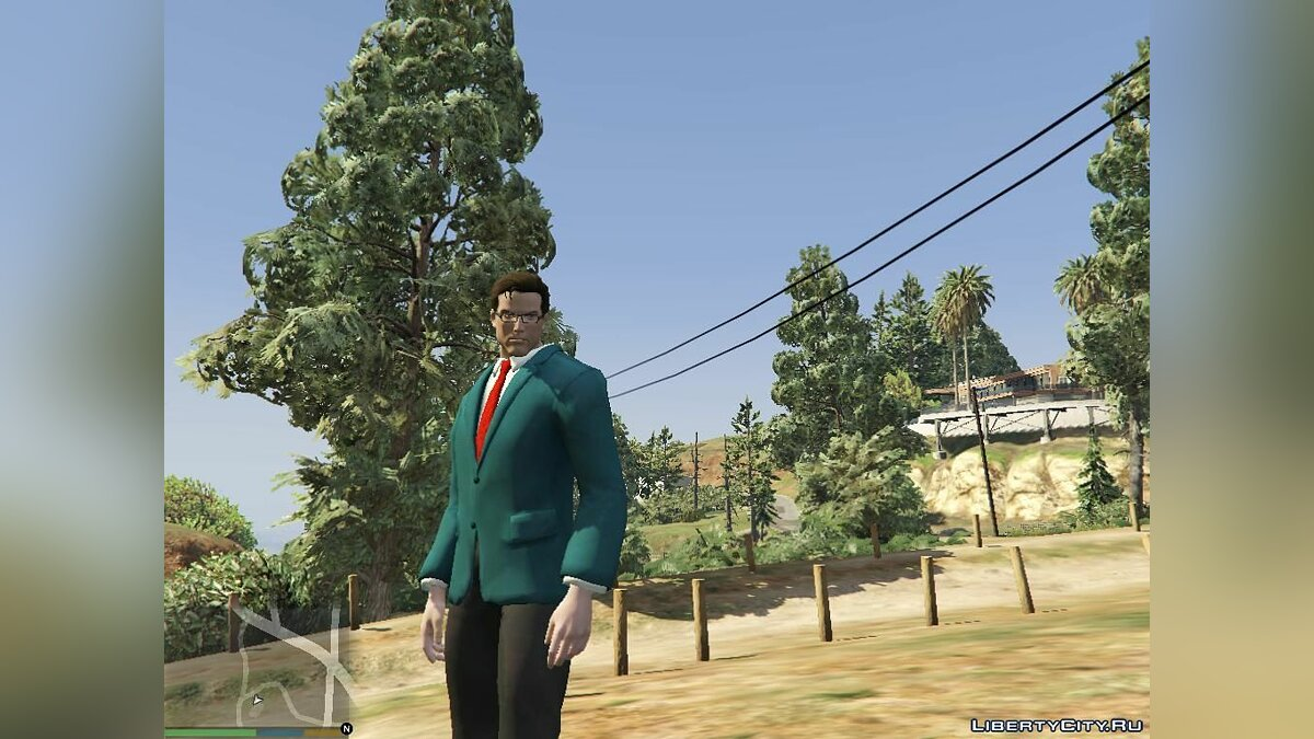 Новый персонаж Clark Kent (Superman) [Add-On Ped] для GTA 5