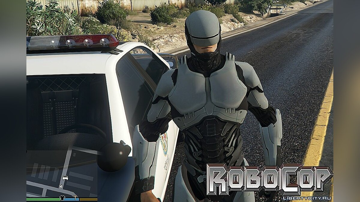 Robocop (New Version) для GTA 5