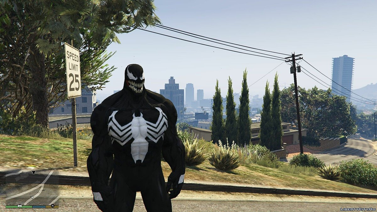 MCOC Venom [Add-On Ped] 1.0 для GTA 5