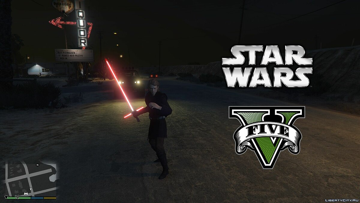 Star Wars Anakin Skywalker [Ped] для GTA 5