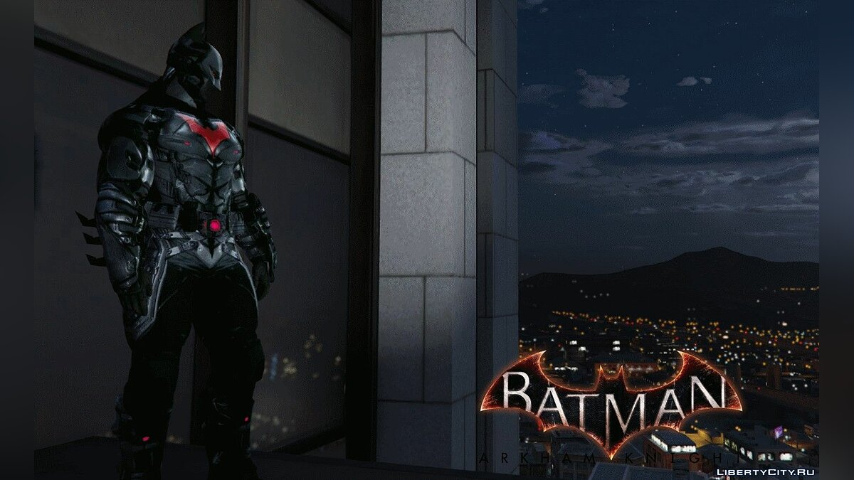 Arkham Knight Batman Beyond 2039 для GTA 5