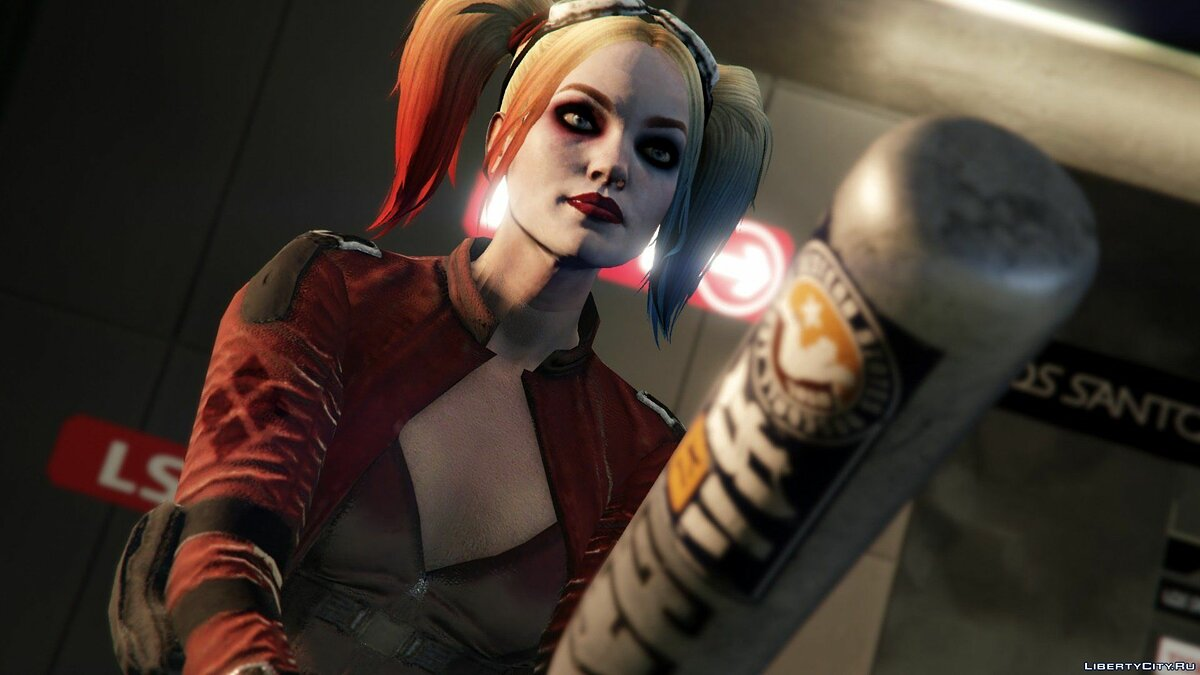Harley Quinn Injustice 2 [Add-On Ped/Replace] v1.0 для GTA 5 - скриншот #15