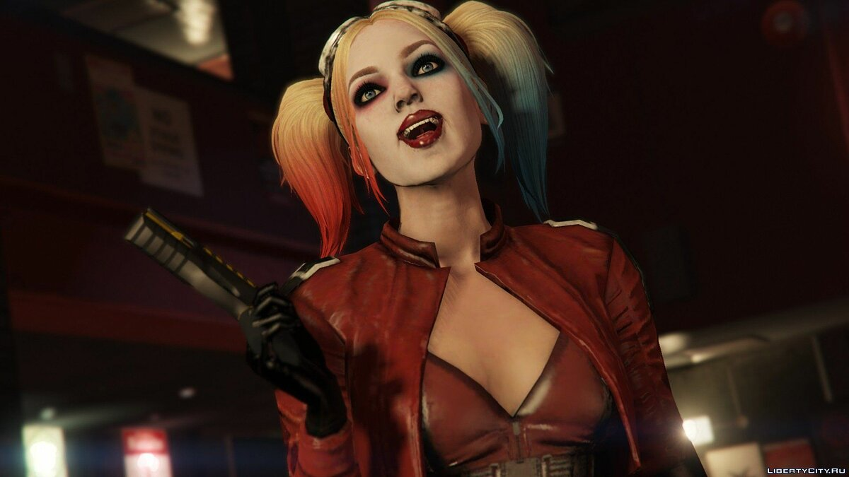Harley Quinn Injustice 2 [Add-On Ped/Replace] v1.0 для GTA 5 - скриншот #12