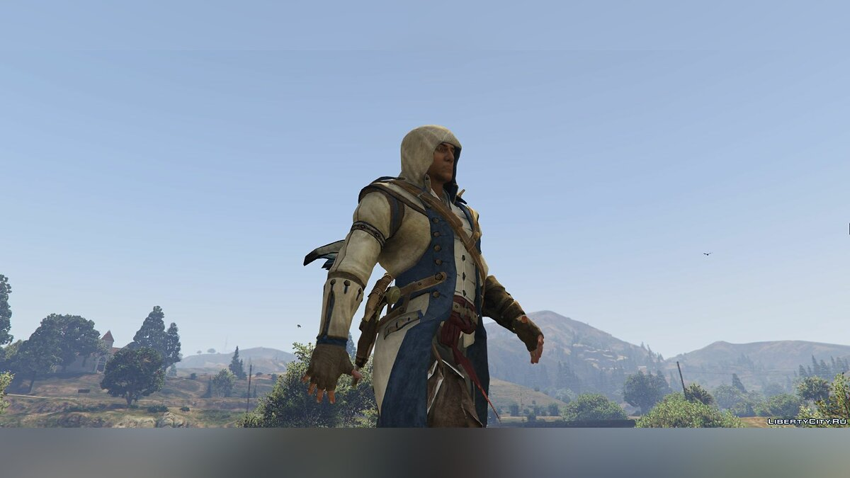 Connor Kenway Assassin's Creed 3 для GTA 5 - скриншот #2