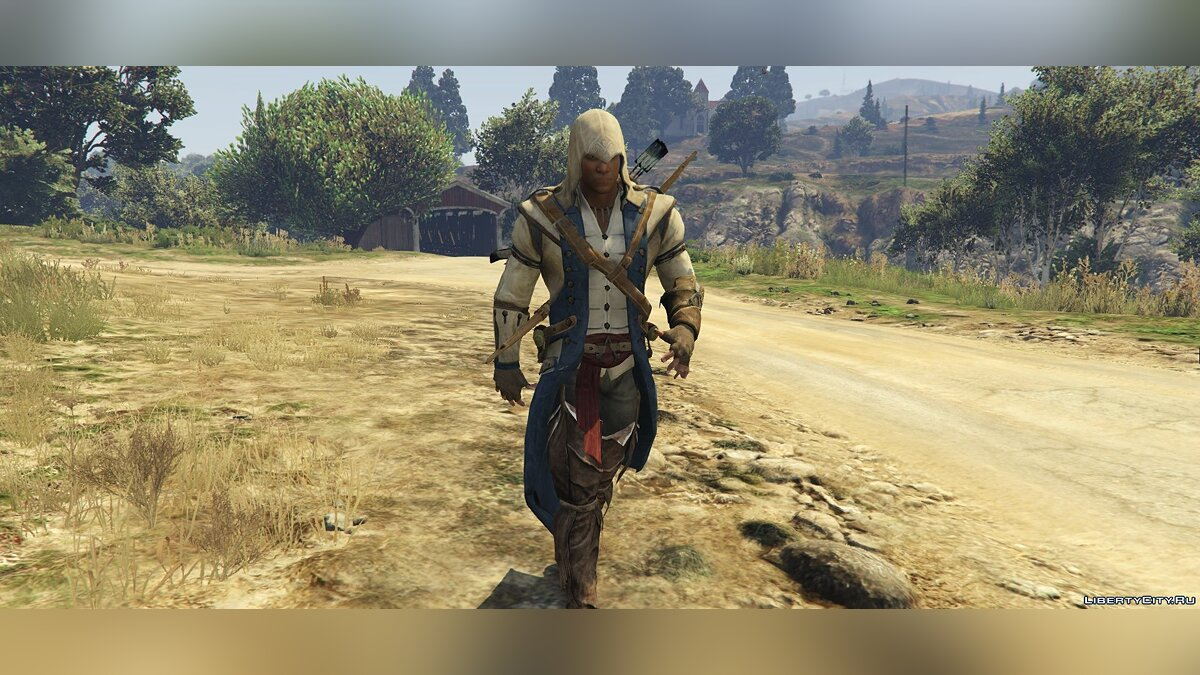 Connor Kenway Assassin's Creed 3 для GTA 5