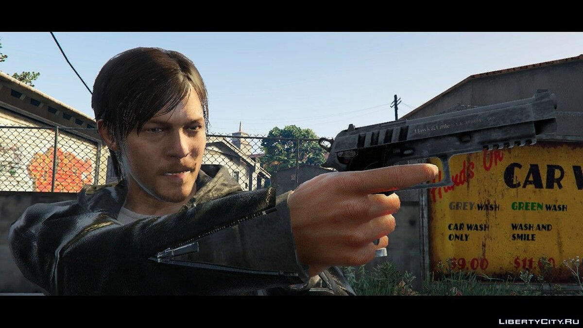 Norman Reedus from Silent Hills 1.0 для GTA 5 - скриншот #3