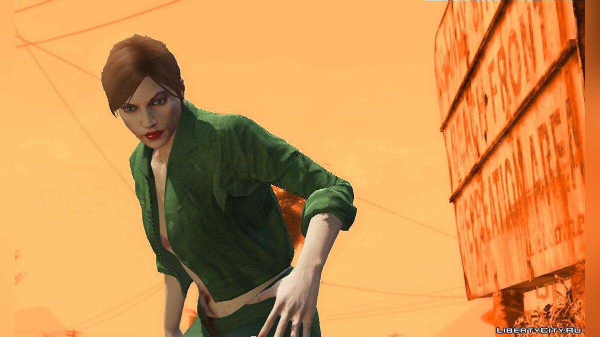 Misty (as player) 0.3 для GTA 5