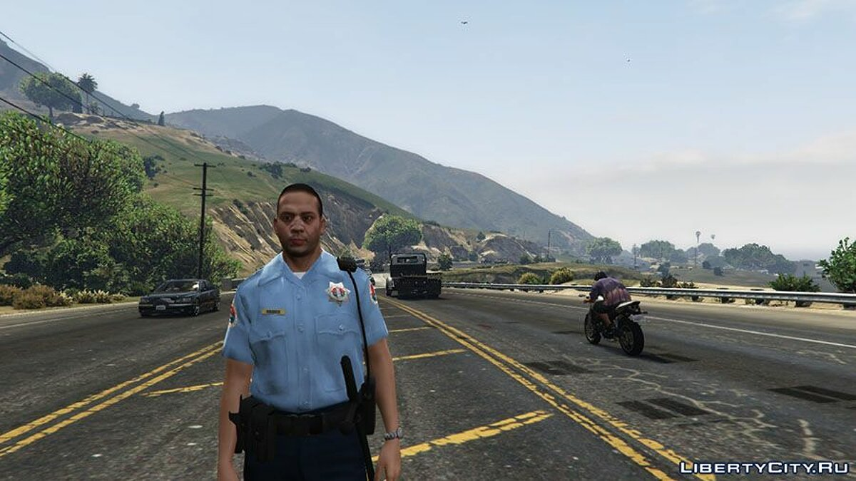 San Andreas State Trooper Ped для GTA 5