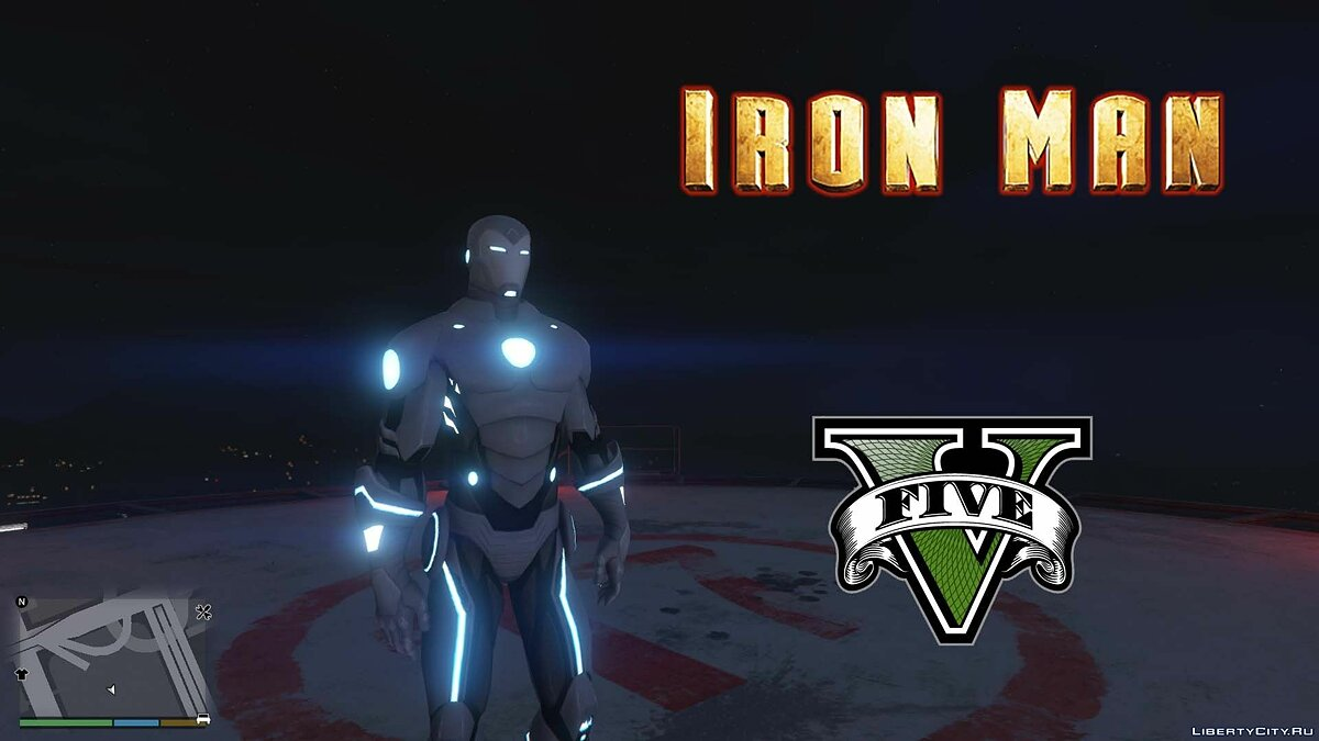 Superior Iron Man [Add-On Ped] 1.0 для GTA 5 - скриншот #2