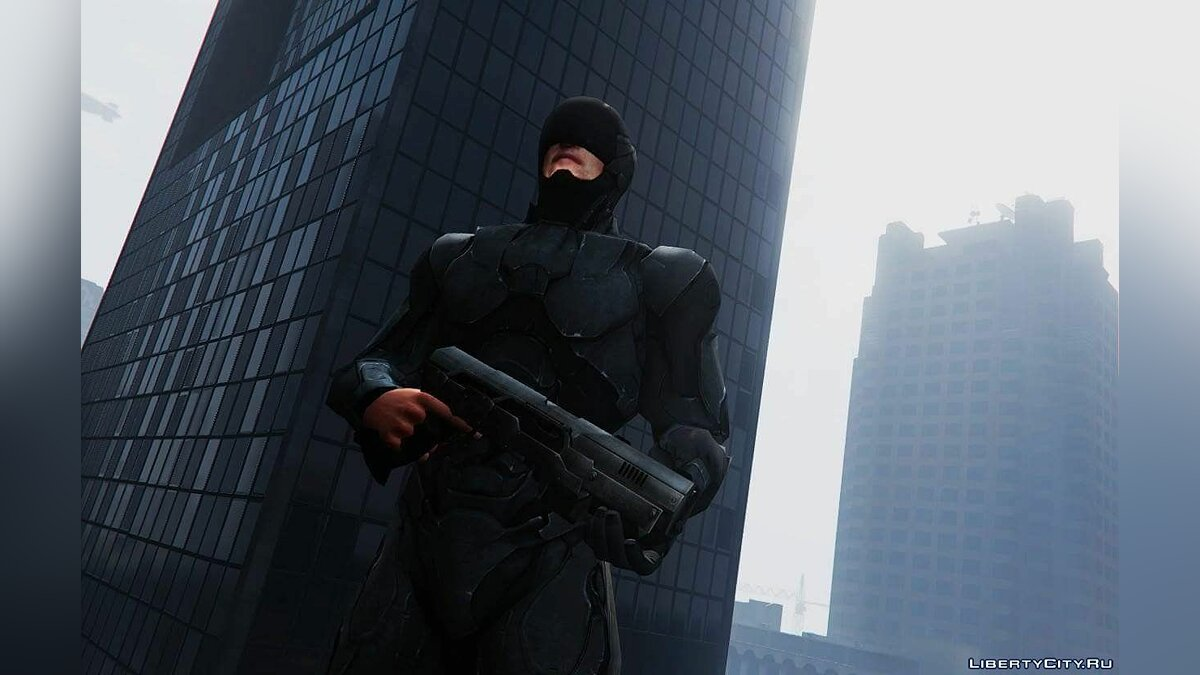 ��овый персонаж Robocop [Add-On Ped] 2.0 для GTA 5