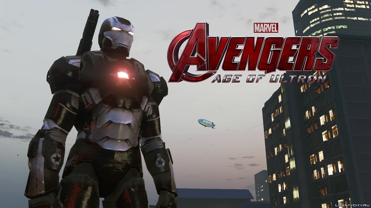 War Machine mark II (Avengers Age of Ultron) 1.3 для GTA 5 - скриншот #3