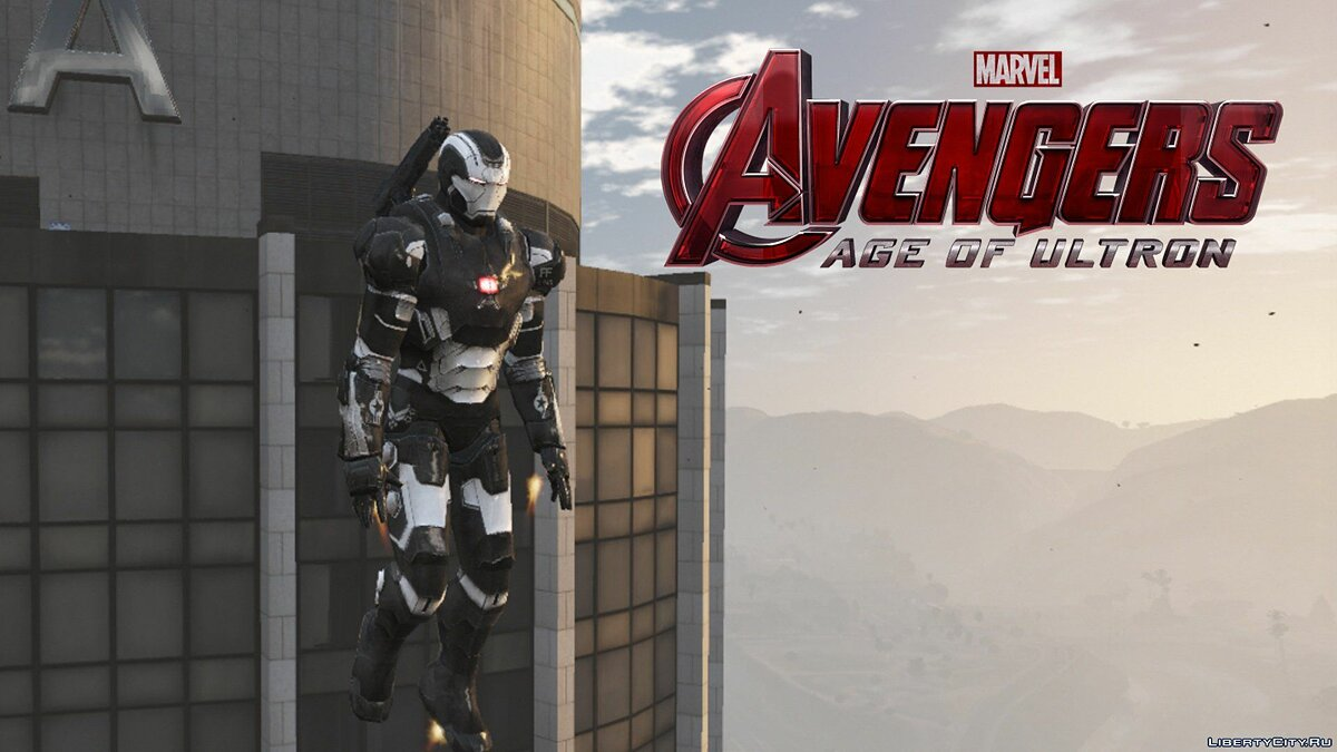 War Machine mark II (Avengers Age of Ultron) 1.3 для GTA 5 - скриншот #2