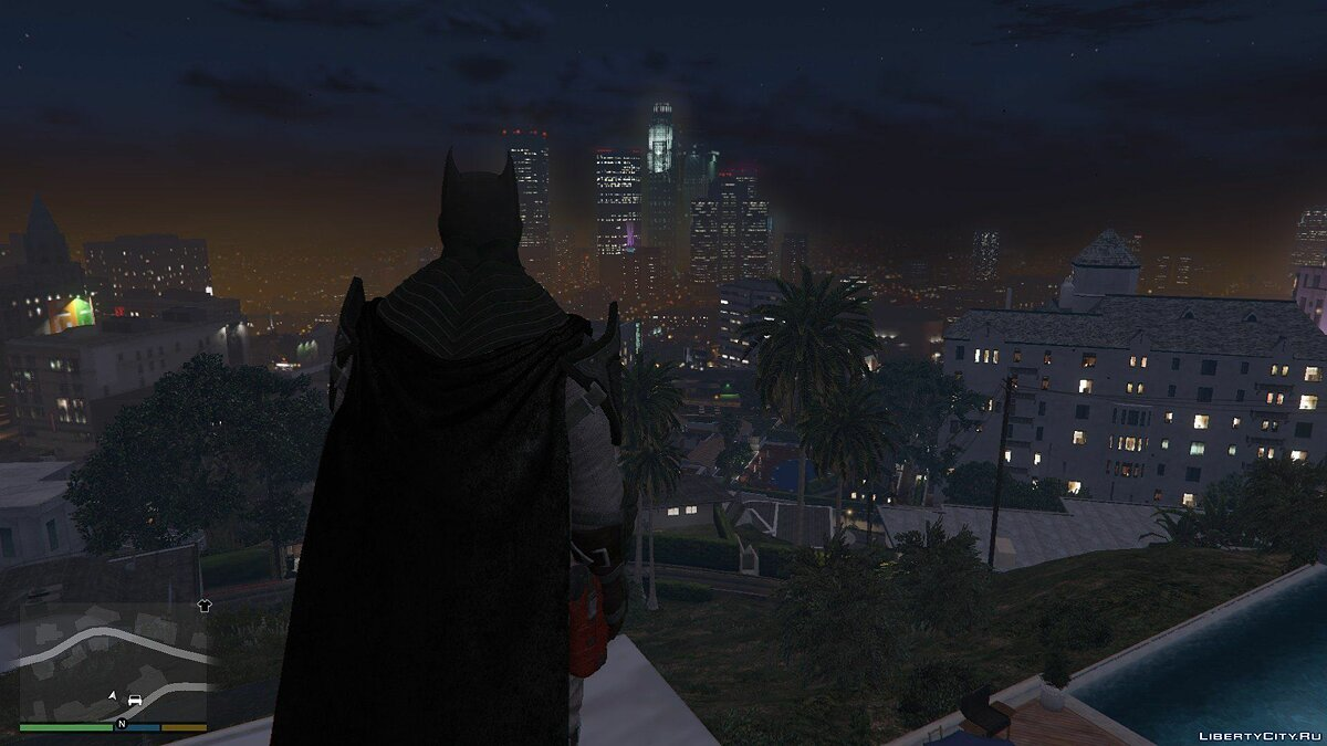 BAK Flashpoint Batman для GTA 5 - скриншот #5