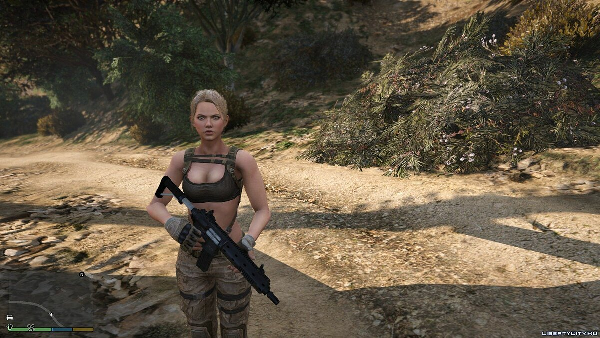 Новый персонаж Leona from Sudden Attack 2 | [Add-On / Replace PED] 1.1 для GTA 5
