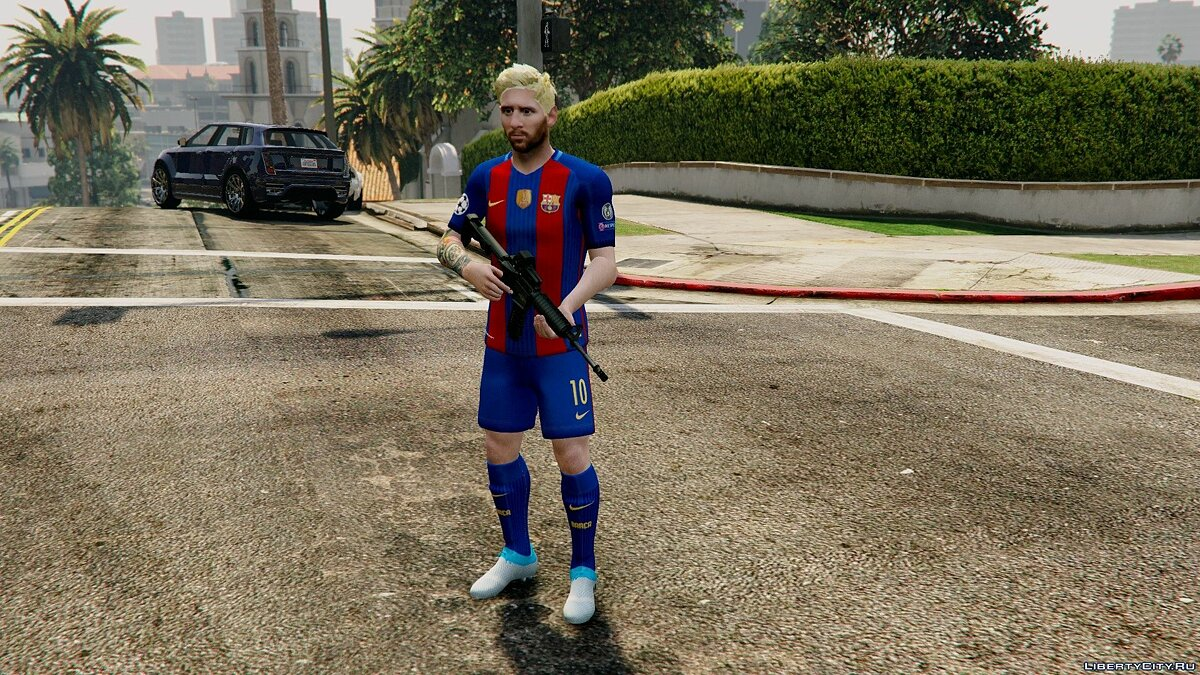 Lionel Messi [Add-On / Replace] 1.0 для GTA 5