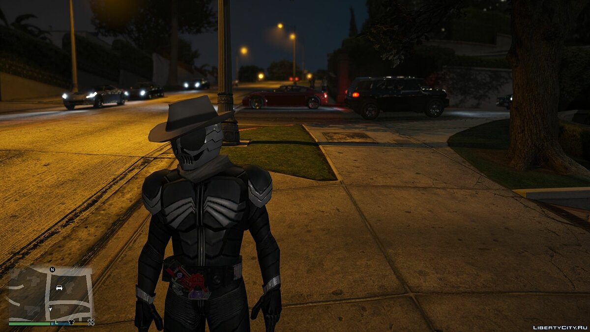 Новый персонаж Kamen Rider Skull [Add-On / Replace PED] 1.0 для GTA 5