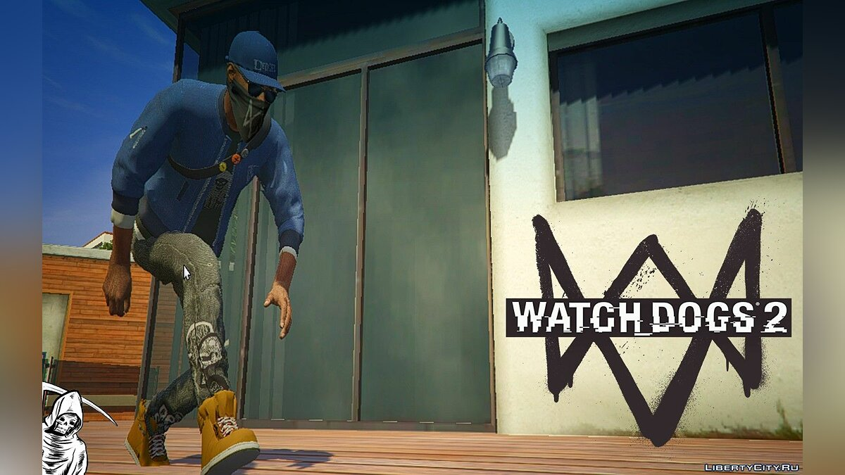 Watch Dogs 2: Marcus Holloway для GTA 5