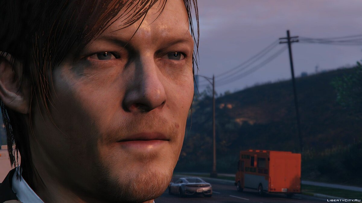 Norman Reedus [Add-On Only] 1.0 для GTA 5