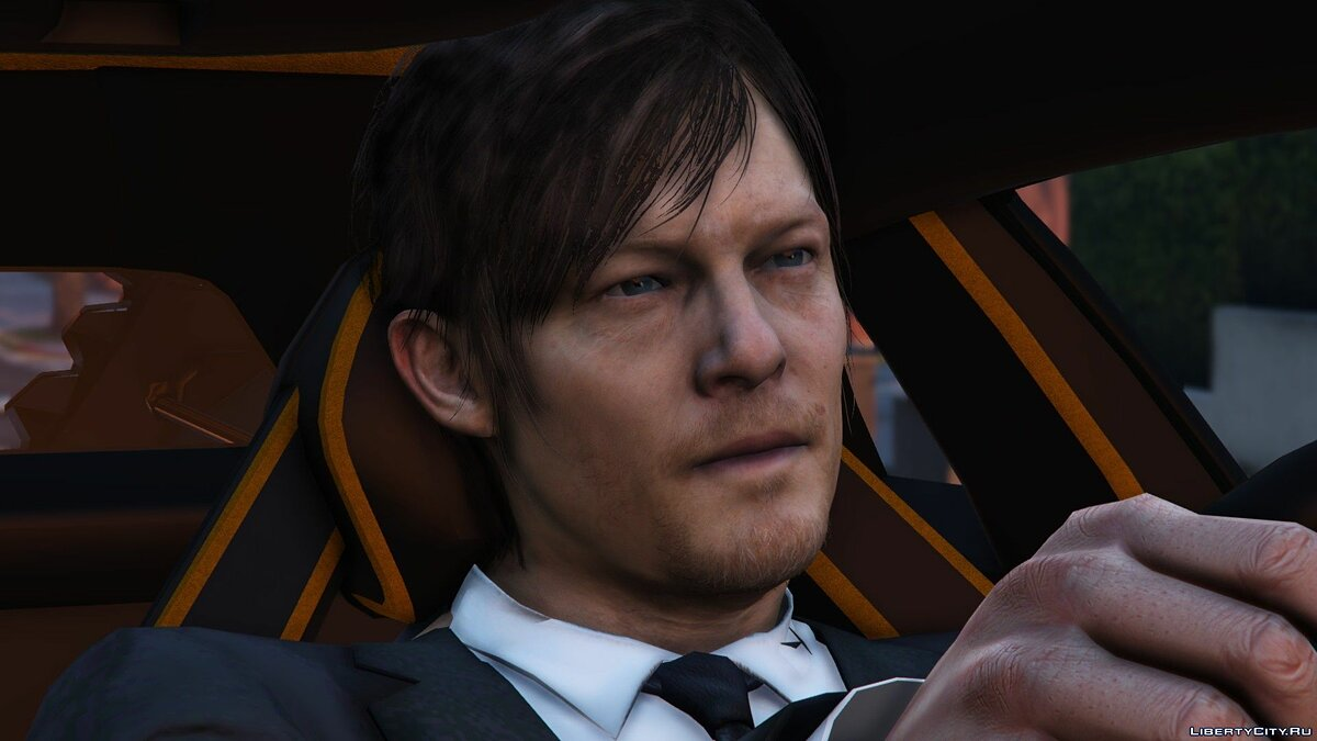 Norman Reedus [Add-On Only] 1.0 для GTA 5 - скриншот #4